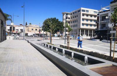 Η πλατεία βρίσκεται στην «καρδιά» της Λεμεσού