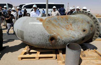 Το Ιράν αρνείται την εμπλοκή του στην επίθεση, που αρχικά είχε ως αποτέλεσμα να μειωθεί στο ήμισυ η πετρελαϊκή παραγωγή