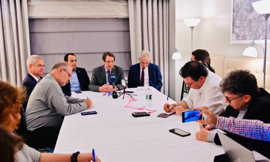 «Στην προσπάθεια μας αυτή δεν είμαστε μόνοι, η στενή συνεργασία με Ελληνική Κυβέρνηση ενδυναμώνει τις προσπάθειες»