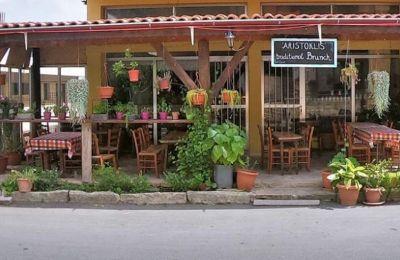 Ένας όμορφος καλτ χώρος περικυκλωμένος από όμορφα φυτά και γλάστρες, προσφέρει δελεαστικό κυπριακό brunch/πρόγευμα.