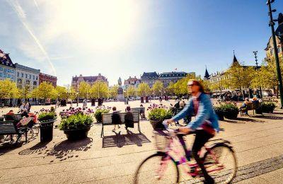 Η πλατεία Stortorget στην παλιά πόλη του Μάλμε φτιάχτηκε το 1540. (Φωτογραφία: Werner Nystrand)