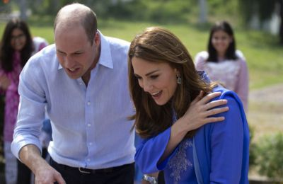 Kate και William συναντήθηκαν και με τον Πρωθυπουργό της χώρας, Ίμραν Χαν, στην κατοικία του