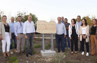 Ως γνωστό τα ξενοδοχεία μελισσών συμβάλλουν στην ενίσχυση της βιοποικιλότητας