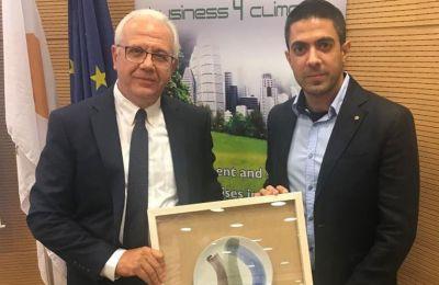 Τα βραβεία απονεμήθηκαν για πρώτη φορά στο πλαίσιο του διαγωνισμού που διοργανώνουν το Τμήμα Περιβάλλοντος, η ΟΕΒ και το Τεχνολογικό Πανεπιστήμιο Κύπρου