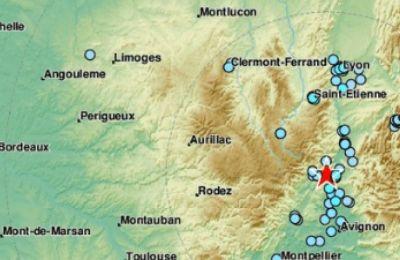 Ο σεισμός σημειώθηκε 16 χιλιόμετρα νότια της πόλης Πρίβας και 124 χιλιόμετρα βορειοανατολικά της του Μονπελιέ.