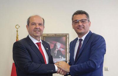Ο κ. Τατάρ είπε ότι κατά τις τελευταίες διαπραγματεύσεις δεν επιτεύχθηκε κανένα αποτέλεσμα και συνεπώς δεν έχει νόημα να διεξαχθούν περαιτέρω συζητήσεις.