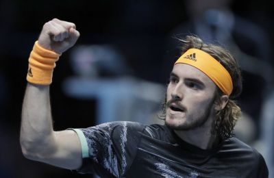 ATP Finals: Τεράστια πρόκριση και ημιτελικά για Τσιτσιπά