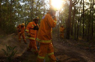 Η περίοδος των πυρκαγιών άρχισε πάρα πολύ πρόωρα και με τρομακτική σφοδρότητα.
