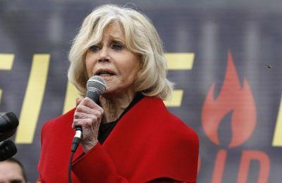 Η Jane Fonda 81χρονη ηθοποιός και ακτιβίστρια