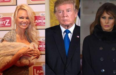 Ο Trump ανάμεσα στην Pamela και τη Melania