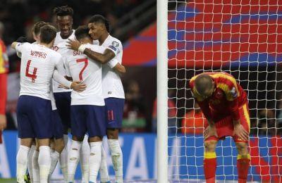 Διέσυρε το Μαυροβούνιο και τσέκαρε εισιτήριο για την τελική φάση η Αγγλία