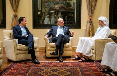 Οι Υπουργοί αντάλλαξαν απόψεις για τις τελευταίες εξελίξεις στην περιοχή και συζήτησαν ένα αριθμό περιφερειακών και διεθνών θεμάτων