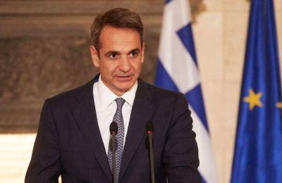 «Ενωμένοι οι Έλληνες, οικοδομούμε μια καλύτερη Ελλάδα. Την Ελλάδα που μας αξίζει. Με αλήθεια, σχέδιο, δουλειά και αποτέλεσμα. Προχωρούμε μπροστά»