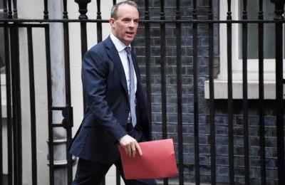 Σε ερώτηση του BBC TV αν η Βρετανία μπορεί να αποχωρήσει χωρίς συμφωνία ο Ράαμπ είπε: «Όχι..., Δεν νομίζω ότι είναι ούτε κατά διάνοια πιθανό», είπε ο ο ίδιος.
