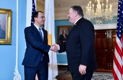 Ο κ. Χριστοδουλίδης θα έχει την ευκαιρία να ενημερωθεί από τον Αμερικανό Υπουργό Εξωτερικών για την επίσκεψη του Τούρκου Προέδρου Ρετζέπ Ταγίπ Ερντογάν.