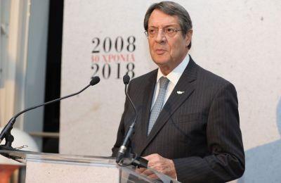 «Στόχος μας ήταν και παραμένει η δημιουργία ενός πλήρως ανεξάρτητου και κυρίαρχου κράτους», επανέλαβε ο Νίκος Αναστασιάδης