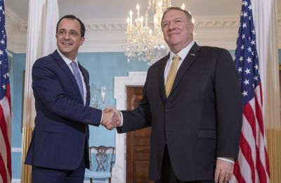 Ήταν η δεύτερη συνάντηση των δύο σε ένα χρόνο των δύο Υπουργών μετά τα Ιεροσόλυμα