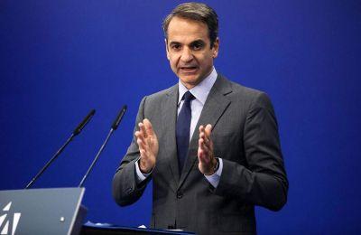 Ο κ. Μητσοτάκης τονίζει ότι η η εικόνα της χώρας έχει ήδη αλλάξει κατά τους πρώτους μήνες της νέας κυβέρνησης.