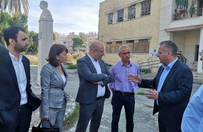 Ολοκληρωμένη πολιτική για το νέο «σχολικό χάρτη» της Λάρνακας εξήγγειλε ο Κώστας Χαμπιαούρης.