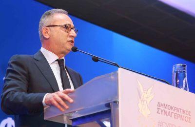 «Συνεχίζουμε δυνατά μαζί με τη στήριξη της μεγάλης πολιτικής οικογένειάς μας, το Ευρωπαϊκό Λαϊκό Κόμμα».