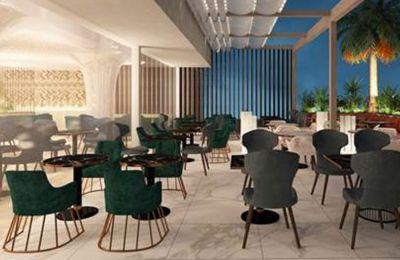 Με εντυπωσιακό design, λειτουργεί από το πρωί για καφέ, τα μεσημέρια για lunch break με διαφορετικό μενού από της νύχτας.