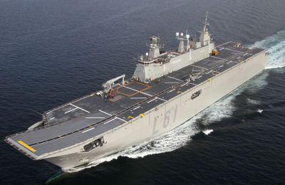 Θα μεταφέρει αεροπλάνα, ελικόπτερα, μη επανδρωμένα αεροσκάφη, καθώς και αποβατικά οχήματα.