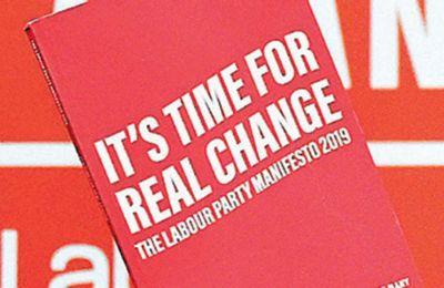 «Ωρα για πραγματική αλλαγή» ο τίτλος του Εργατικού μανιφέστου.
