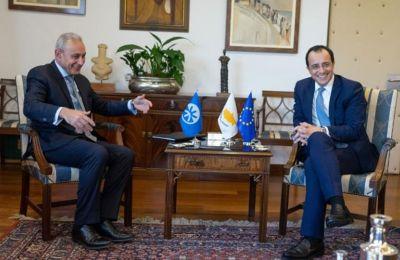 Ο ΥΠΕΞ αναφέρθηκε στην προώθηση από πλευράς Κύπρου της ασφάλειας, της ειρήνης και της ευημερίας στην περιοχή της Μεσογείου