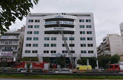 Ενδείξεις εμπρησμού για τη φωτιά στο ξενοδοχείο επί της λεωφόρου Συγγρού