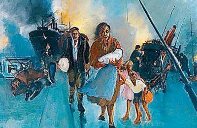 Τα έργα ζωγραφικής που εκτίθενται στη ΣΤΟart Κοραή.