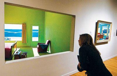 Μέσα στο Virginia Museum of Fine Arts υπάρχει ένα λειτουργικό δωμάτιο, που περιμένει τον βραδινό του φιλοξενούμενο.