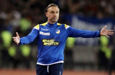 Την ομάδα αναλαμβάνει προσωρινά ο Λούκας Χατζηλούκας.