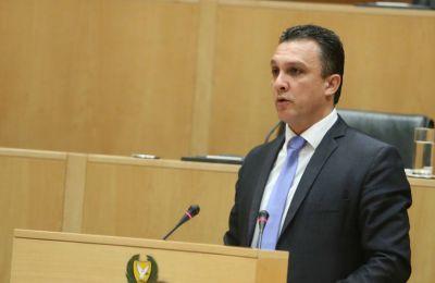 Ο κ. Γιωράλλας δηλώνοντας τη στήριξη του κόμματος του στη διαδικασία των συνομιλιών για λύση του Κυπριακού