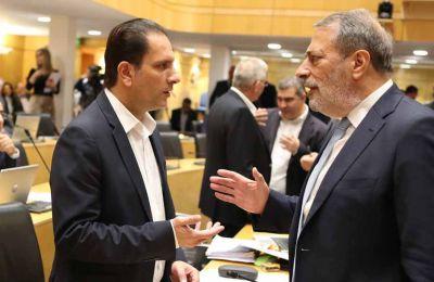 O βουλευτής του ΑΚΕΛ, Άριστος Δαμιανού στην ομιλία του εστίασε στο Πρόγραμμα των διαβατηρίων