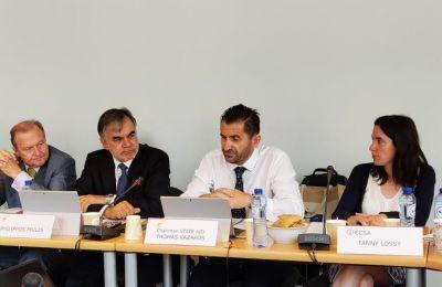 Η Ένωση Ευρωπαίων Πλοιοκτητών (ECSA) η οποία περιλαμβάνει τις εθνικές ενώσεις πλοιοκτητών της Ευρωπαϊκής Ένωσης,