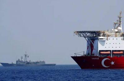 Σύμφωνα με την Jerusalem Post, πολεμικό πλοίο του τουρκικού ναυτικού διέταξε την απομάκρυνση του ισραηλινού ερευνητικού σκάφους «Bat Galim»