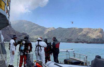 Συνολικά 47 άνθρωποι βρίσκονταν πάνω στο νησί τη στιγμή της έκρηξης του ηφαιστείου