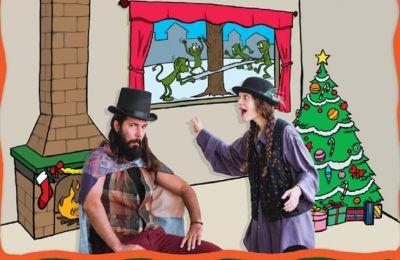 Μια χριστουγεννιάτικη ιστορία για ένα κορίτσι που για καλή της τύχη συναντά τους καλικάντζαρους