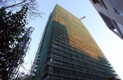 Το Labs Tower, ένα κτήριο 22 υπέργειων επιπέδων, και τριών υπόγειων, συνολικού ύψους 95 μέτρων, θα στεγάσει εταιρείες του κ. Sagi. (Φωτογραφίες: Φίλιππος Χρίστου)