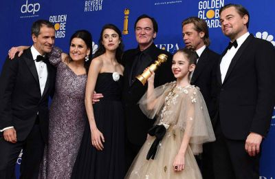 Ο Ταραντίνο κέρδισε το βραβείο για την καλύτερη ταινία στην κατηγορία «κωμωδία/ μιούζικαλ», αλλά και το βραβείο σεναρίου και ο Μπραντ Πιτ τιμήθηκε με το βραβείο «β' ανδρικού ρόλου»