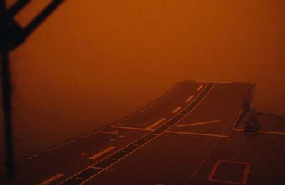 Το ηλιοβασίλεμα στην πρωτεύουσα της Αργεντινής, το Μπουένος Άιρες, έχει κόκκινο χρώμα.