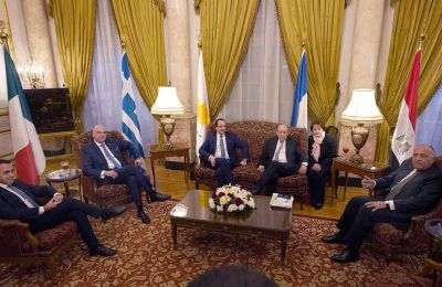 Εξέφρασε την πλήρη στήριξη της Ελλάδας στις προσπάθειες του Ειδικού Εκπροσώπου των Ηνωμένων Εθνών για τη Λιβύη Γασάν Σαλάμε
