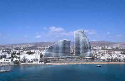 Το Limassol Del Mar είναι ένα προϊόν της κοινοπραξίας Cypeir Properties Ltd, την οποία απαρτίζουν ο Όμιλος Λεπτός και Όμιλος Δ. Ζαβός