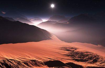 Οι υδρατμοί συσσωρεύονται σε μεγάλες ποσότητες σε ύψος άνω των 80 χιλιομέτρων στην αρειανή ατμόσφαιρα