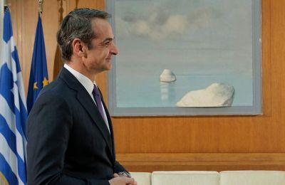 «Ο πρωθυπουργός άκουσε τις απόψεις των συνομιλητών του κι επανέλαβε τη σταθερή επιλογή του».