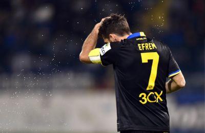 Ο Γιώργος Εφραίμ ήταν ο παίκτης με την περισσότερη ενέργεια από πλευράς ΑΠΟΕΛ στον χθεσινό αγώνα