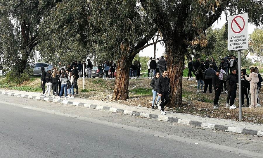 Ξεκίνησαν να μαζεύονται οι μαθητές για την διαμαρτυρία τους