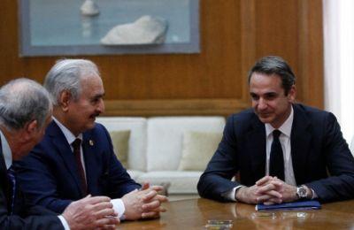 «Ο στρατάρχης Χαφτάρ συμφώνησε με τις θέσεις μας και είμαστε έτοιμοι να βοηθήσουμε στην επόμενη μέρα της Λιβύης», δήλωνε νωρίτερα ο Ν. Δένδιας.
