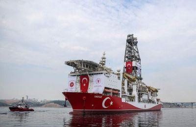 Σύμφωνα με πληροφορίες της «Κ» το Γιαβούζ περιφρουρείται από πολεμικά πλοία του τουρκικού Πολεμικού Ναυτικού.