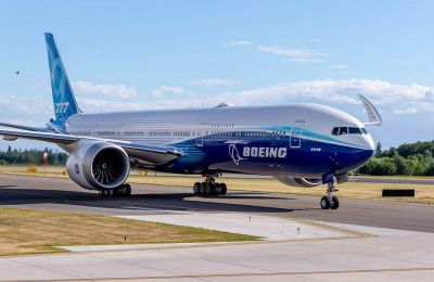 Το δικινητήριο 777Χ μπορεί να μεταφέρει από 384 έως 426 επιβάτες.